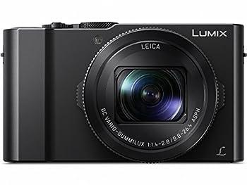Panasonic LUMIX LX10 4K Digital Camera 20.1 Megapixel 1-Inch Sensor 3X LEICA DC VARIO-SUMMILUX Lens F1.4-2.8 Aperture POWER O.I.S Stabilization 3-Inch LCD DMC-LX10K  Black