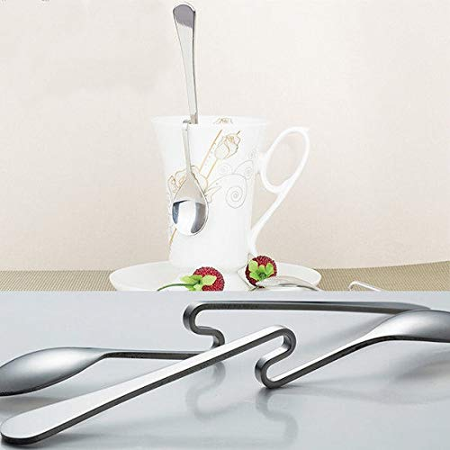Curved tea spoon single coffee spoon drink condiment spoon spoon spoon