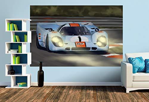 Premium Foto-Tapete Porsche 917 (versch. Größen) (Size M   279 x 186 cm) Design-Tapete, Wand-Tapete, Wand-Dekoration, Photo-Tapete, Markenqualität von ERFURT