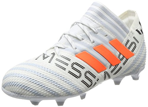 adidas Jungen Nemeziz Messi 17.1 Fg J Fußballschuhe, Mehrfarbig (Ftwr White/solar Orange/clear Grey ), 36 EU