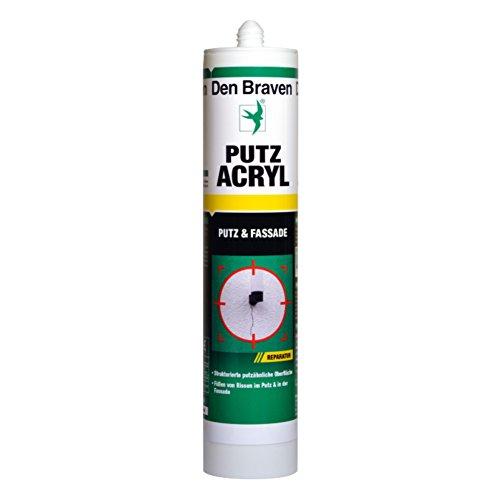 Putz-Acryl 'Den Braven®' 300 ml, weiss