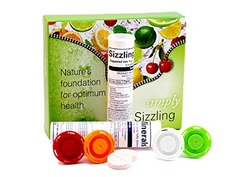 Simply Naturals Pure Plant Derived Sizzling Minerals (Natural Flavour)