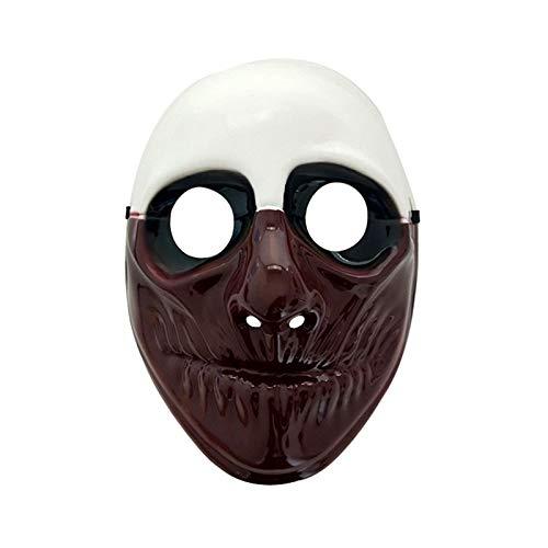 Minch Payaso Máscaras para Mascarada Fiesta Scary Payasos Máscara Payday 2 Halloween Horrible Máscara