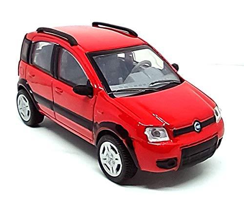 Generico NewRay Fiat Panda 4x4 2006 Color Rojo 1:43