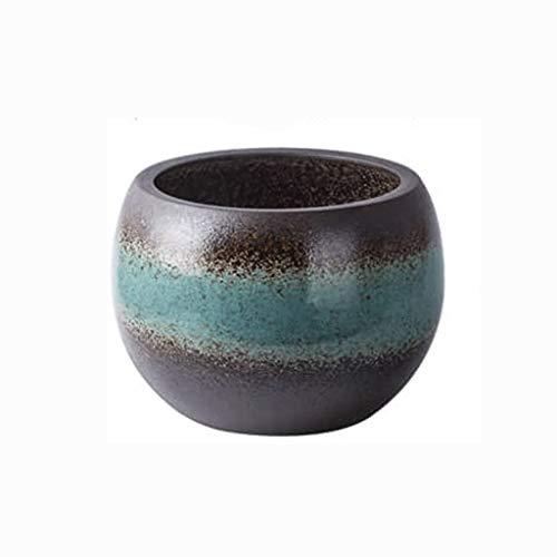 GCX- Bloempot Ceramic bloempot Antique Grof aardewerk Grote Diameter Antieke bloempot Uitstekend (Color : F)