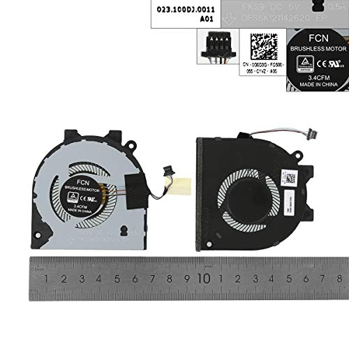 Laptop Replacement CPU Cooling Fan for DELL Inspiron 15 5580 5581 5588 14-5480 5488, ORG