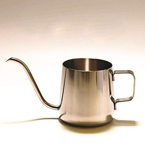 Zwanenhals koffiezetapparaat (250 ml/350 ml) roestvrij staal overgieten koffiemok thee koffiemok kan heeft een gemakkelijk uitgieten uitloop gemakkelijk vast te houden handvat gemakkelijk te reinigen en op te bergen.