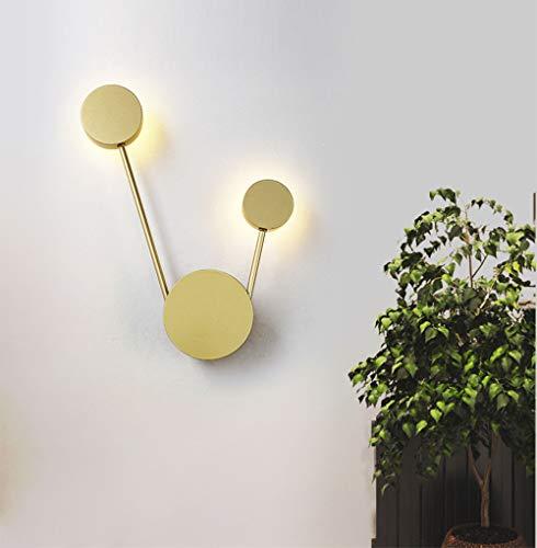 LED Moderno Lámpara pared Dormitorio 12W Luz cálida