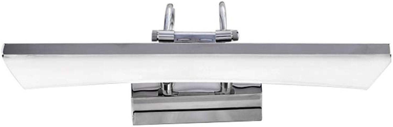 Badezimmer Spiegelleuchten Spiegel Frontleuchte LED Wasserdicht Anti-Fog Bad Licht Wandleuchte Badezimmer Beleuchtung Make-Up Lampen FANJIANI