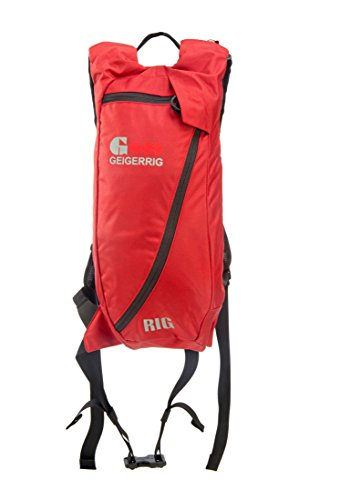 Geigerrig Pressurized Hydration Pack - The RIG - Red