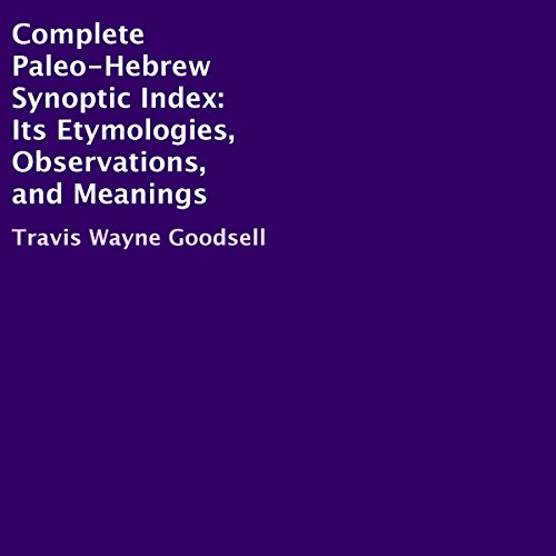 Complete Paleo-Hebrew Synoptic Index cover art