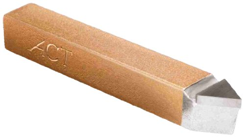 American Carbide Tool Carbide-Tipped Tool Bit for Threading, Neutral, C5 Grade, 0.375' Square Shank, E 6 Size