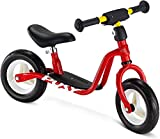 3 años y 4 años de edad para niños Balance de bicicletas 12 pulgadas niño y niña equilibrio bicicleta luz niño bicicleta caminar bicicleta altura ajustable,Red