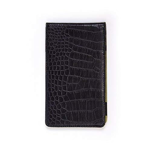 Magic Vosom Professional Golf Scorecard Holder Yardage Book Holder (Black&Green)
