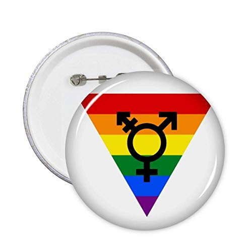 Diferenciação Identidade Arco-íris Igualdade Broche Emblema Acessório Decoração 5 peças