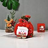 belupai Bolsa de dulces de Navidad con cordón de 24 cm, bolsas de...