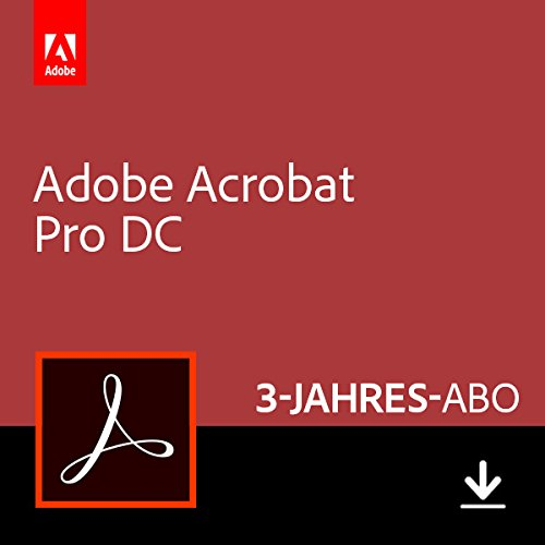 Adobe Acrobat Pro DC | Pro | 3 Jahre | PC/Mac | Download