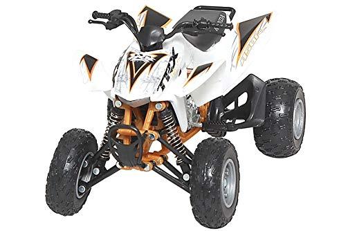 2012 Honda TRX-450R [NewRay 57473], White, 1:12 Die Cast