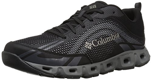 Columbia Men's Drainmaker IV Water Shoe, Black, lux, 11 Regular US