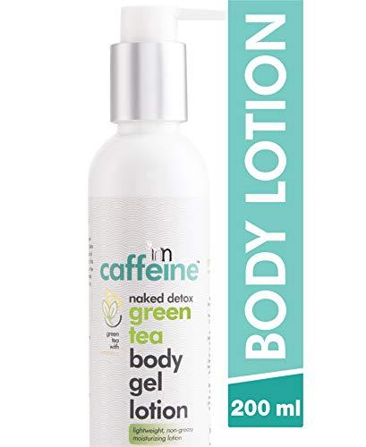 mCaffeine Naked Detox Green Tea Body Gel Lotion | Hydration | Vitamin...