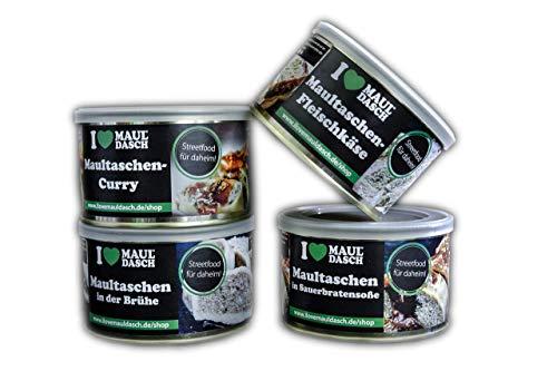 I LOVE MAULDASCH 4er Set Maultaschengerichte in der Konserve