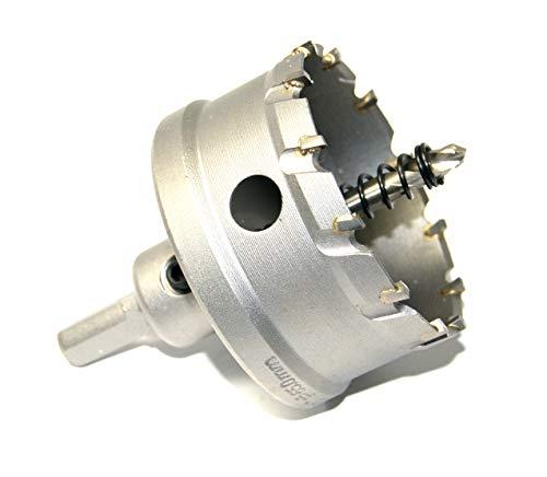 Corona perforadora de metal duro, para acero inoxidable, 16-150 mm, diámetro de 68 mm