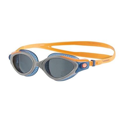 Speedo Damen Goggles Futura Biofuse Flexiseal Triathlon Female, Fluo Orange/Stellar/Smoke, One Size, 8-11257B986