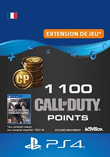 Call of Duty : Modern Warfare 1100 Points   Code PS4 Jeu à télécharger - Compte français