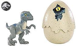 5. Jurassic World Hatch 'n Play Dinos Velociraptor Blue