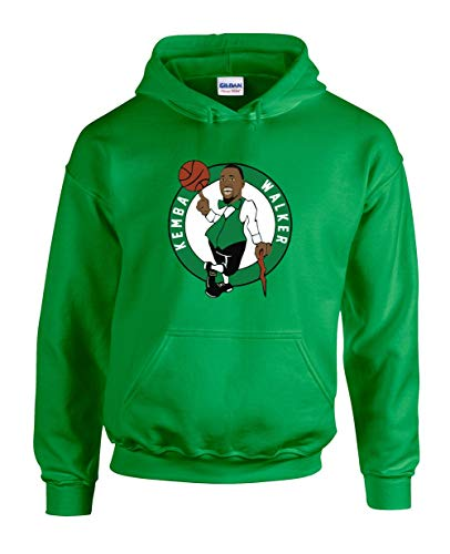 Green Boston Kemba Logo Hooded Sweatshirt Adult
