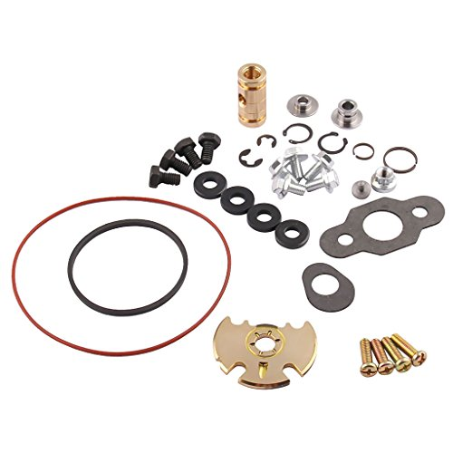 Turbo Rebuild Set, Turbocompresor Turbos Reparación Reparar Kit Equipo de construcción Turbo Rebuild Repair Service Kit se adapta al turbocompresor para GT1749V VNT15 GT15