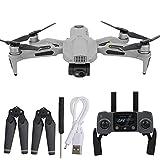 JJDSN Drone GPS Profesional, Mini Drone Quadcopter Plegable con luz LED, Motor sin escobillas Controlador de Velocidad electrónico WiFi Control Remoto Drone Quadcopter para Adultos
