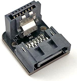 För stationär SSD -hårddisk Vändanslutning Bärbar moderkort SATA7PIN till 90 grader lättviktigt fint utförande