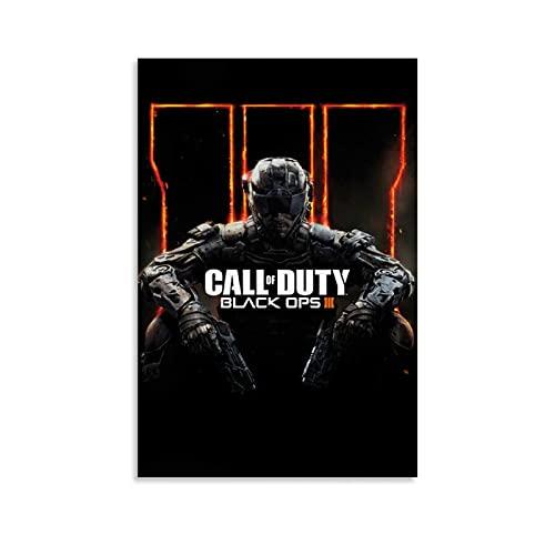 MMMU Póster de Call of Duty Black Ops 3 para pared de 20 x 30 cm