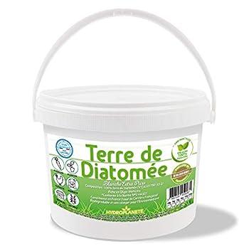 Terre de diatomée amorphe alimentaire Utilisable en Agrigulture Biologique 100% naturelle non calcinée Haute pureté - extra fine