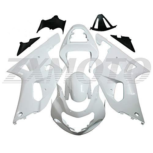 ZXMOTO Unpainted Motorcycle Fairing Kit for 2001 2002 2003 Suzuki GSXR600 /GSXR750 K1 2001 2002 2003