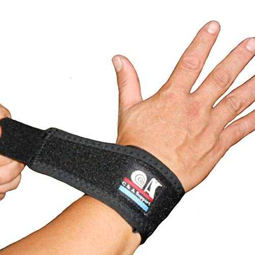 IRUFA,WR-OS-12, 3D Breathable Elastic Fabric Wrist Brace for Tennis, Wrist Injury,TFCC Tear, Triangular Fibrocartilage Complex Injuries, Ulnar Sided Wrist Pain, Weight Bearing Strain, One PCS