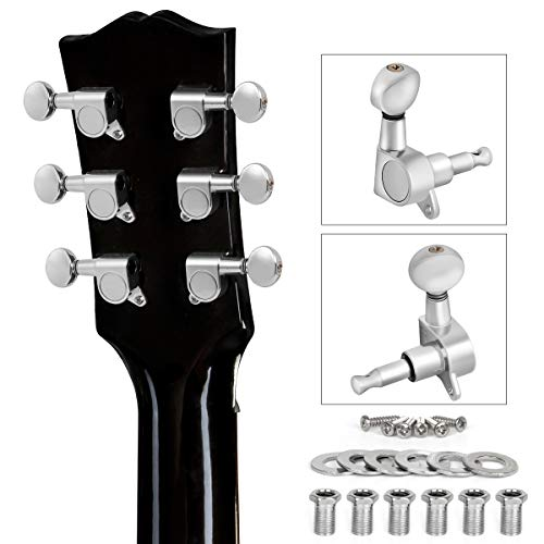 6+6 Guitar Tuning Keys Pegs Open Tuners Zinc Alloy Machine Heads for 12 String Guitar Vbest life Guitar Tuning Pegs