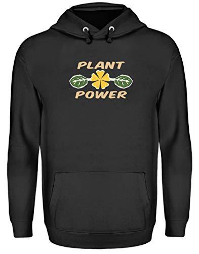 Spirit Shop Plant Power, Plant Powered, Plant Based, Veganistisch, Vegetariërs, Plant voeding, unisex capuchontrui met capuchon, hoodie