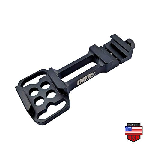 POV Mounting Systems Witness Gun Rail GoPro Camera mount, Picatinny Weaver Compatible