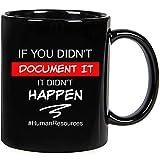 If You Didn't Document Hr Mug , Funny Hr Gift , Coworker Gift , Office Gift , Human Resource Decor , Hr Manager Birthday Gift, Ceramic Novelty Coffee Mugs 11oz, 15oz Mug, Tea Cup, Gift Present Mug Fo