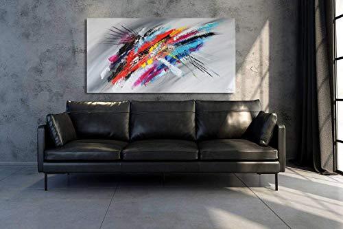 Monica Mirafiori I 140x70 cm I Quadro dipinto a mano I Pittura I Albero Astratto I Arte Moderna