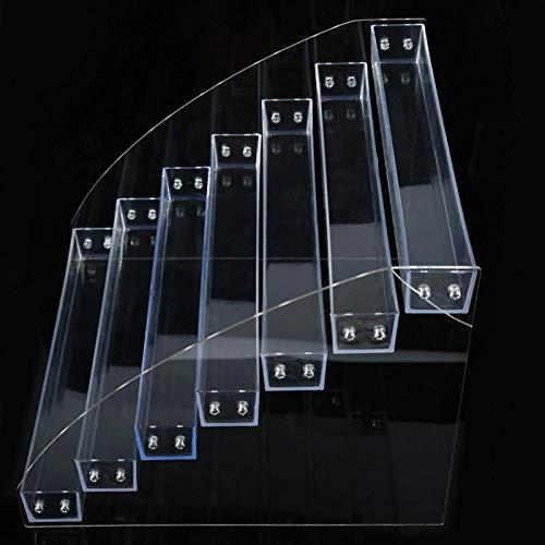 Présentoir acrylique de vernis à ongles durable( Seven Layers)