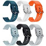 YSSNH 22mm Watch Bands Quick Release Band Compatible with Samsung Galaxy Watch 3 45mm/Galaxy Watch 46mm/Gear S3 Frontier Classic/Silicone Replacement Wristband Strap