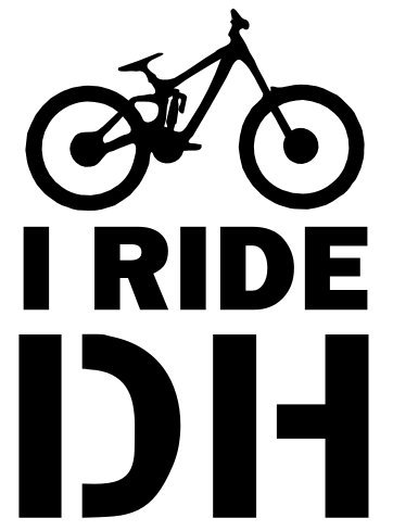 Pegatina con marco de broma para casco de coche, furgoneta, bicicleta MTB