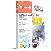 Peach PP525-03 Laminierfolien A5, 125 mic, 100 Stück