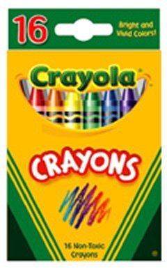 Crayola Classic Color Pack Crayons, 16 Colors/Box, 16 Count (Pack of 48)
