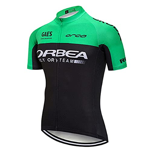 Men's Cycling Jersey Short Sleeve Cycle Clothing Breathable Bike Top Bicycle Shirt