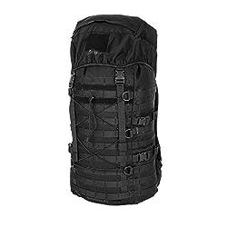 Snugpak Endurance Tactical Backpack with MOLLE Webbing, 600D Heavy Duty Nylon, 40 Liter, Black