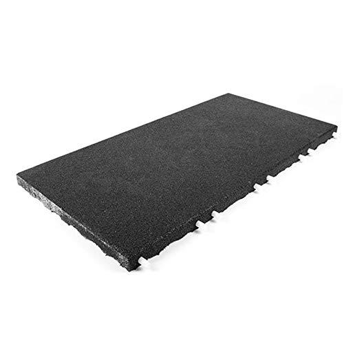 Technikplaza Stallmatte schwarz 100x50x4cm | Stallmatten | Gummimatten
